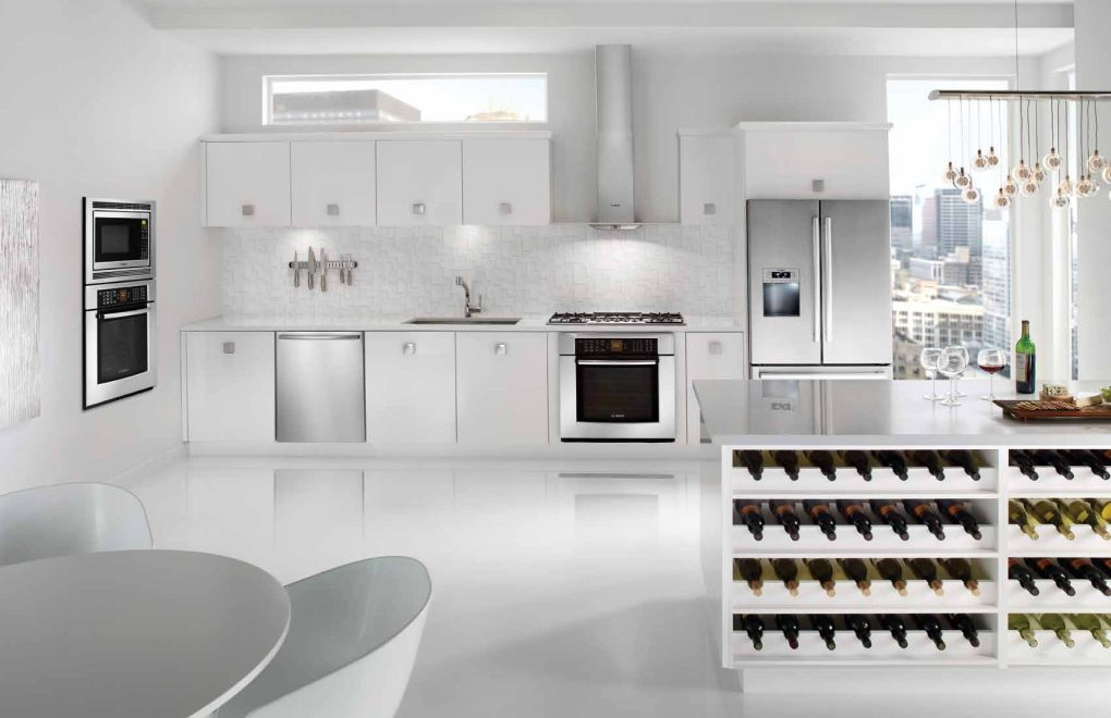 Įmontuojama technika, skalbyklės, indaplovės, šaldytuvai