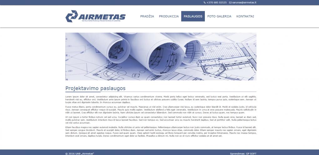 Airmetas.lt webcreatorslt desigin puslapiu kurimas gpsoft 2